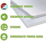 ITALFROM - Pannelli EPS 100 Polistirene Isolamento Termico Polistirolo 100X50X2 cm (Confezione 10 Pezzi)