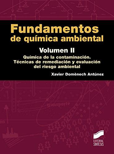 Descargar Libro Fundamentos de química ambiental. Volumen II (Ciencias Químicas) de Xavier Domènech Antúnez