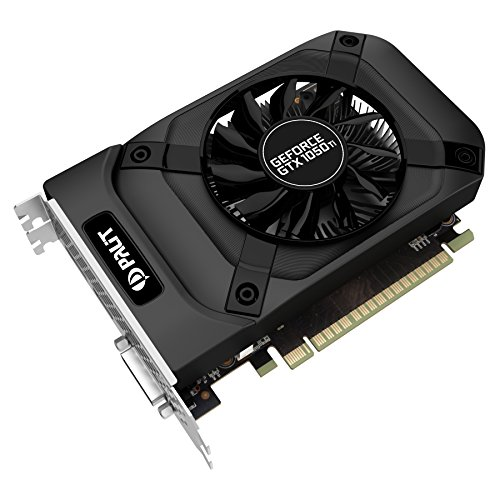 Palit GeForce GTX 1050 Ti NE5105T018G1F Grafikkarte 4GB (DDR5 128bit) schwarz (200 Geforce)