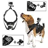 Poppypet Gopro Hund Brustgurt Hundegeschirr Brusthalterung für GoPro Hero