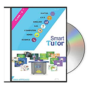 Smart Tutor Class: 4 - All Subject Offline solution Covering Maths, English, Hindi, EVS,G.K, Science, Computer with lots of Animation, fun and interactive Activities.