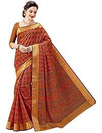 Aarti Apparels Women's Gadwal Cotton Sari_ASHIGadwal013
