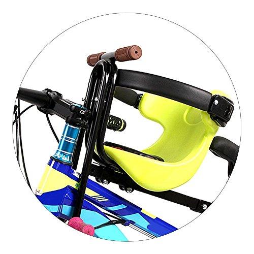 CloudWhisper 1Mountainbike Fahrrad Kindersitz Tragbarer-Baby-Sitz für Kinder von 3–5Jahren, grün