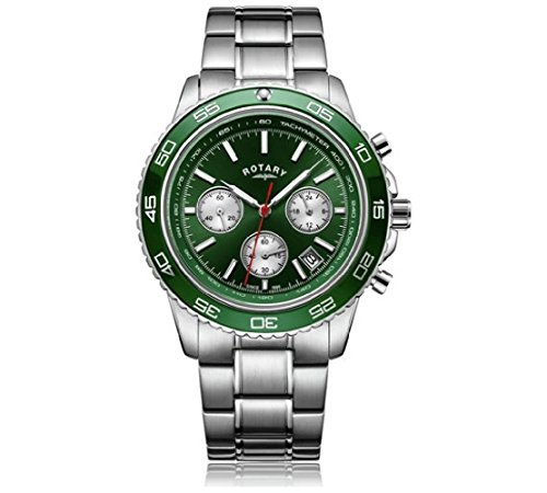 graph Grün Zifferblatt Armband Armbanduhr ()