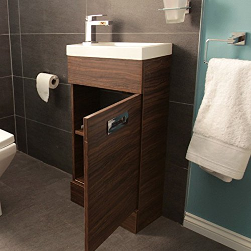 400 Vanity Unit With Basin For Bathroom Ensuite Cloakroom