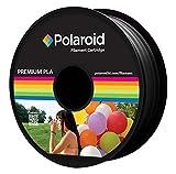 Polaroid 3D 1Kg Universell Premium PLA Filament Material Schwarz (Pantone 6C)