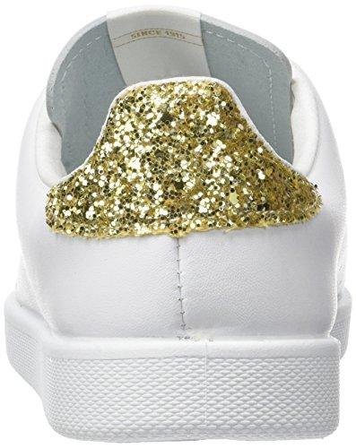 Victoria Deportivo Piel, Sneaker Unisex – Adulto Oro (Platino)