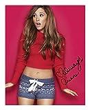Ariana Grande Autogramme Signiert 21cm x 29.7cm Foto Plakat
