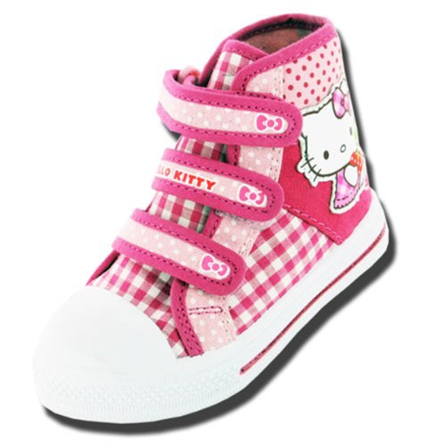 Bambini e bambine Hello kitty Cartoon Character Gladioli estate Tela Boot 61687, rosa (Pink), 30 EU Bambino