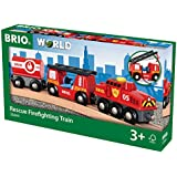 Brio - Tren de rescate de bomberos (33844)