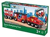 BRIO World 33844 - Feuerwehr Löschzug, bunt