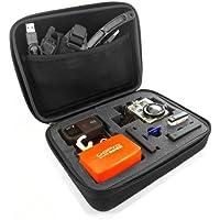 MiniSuit Eva - Funda con compartimentos para videocámaras GoPro Hero, color negro