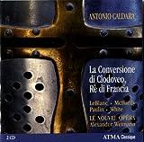 La conversion de Clovis, roi des Francs / Antonio Caldara, comp. | Caldara, Antonio (1670-1736). Compositeur