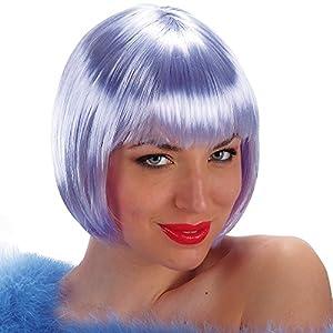 juguetes carnaval 02.431 parrucca encantadora lilla Caschetto en Busta