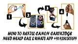 GoColor The Complete Refill kit With ink for Canon Printer ( 70 ml X 4 Color Bottle & Complete Accessories)