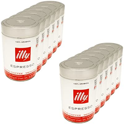 Illy Ground Coffee Classico 250g by Illy