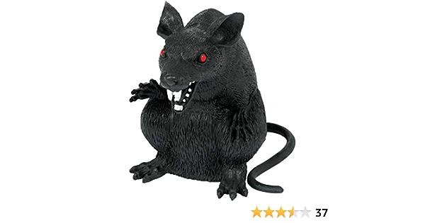Boneyard Black Evil Rat Party Decoration x 2