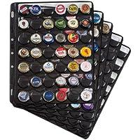 hojas de plástico COMPART, para 42 placas de cava / tapas coronas