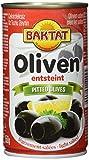 Produkt-Bild: Baktat Schwarze Oliven o. Stein leicht ges. , 2er Pack (2 x 350 g Packung)