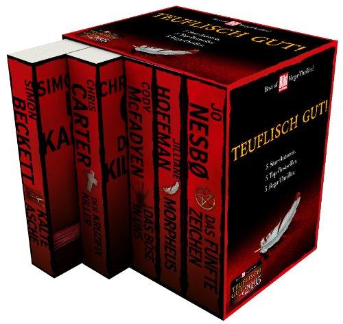 BamS -Bild am Sonntag Best of Mega-Thriller 2014 Box, 5 Bände: Das fünfte Zeichen, Das Böse in uns, Der Kruzifix-Killer, Morpheus, Kalte Asche