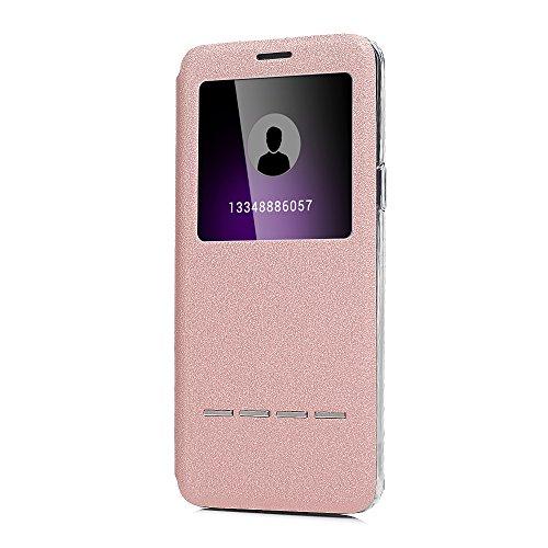 Tophung Galaxy S9Plus Tasche, Premium PU Leder View Flip Case TPU Bumper mit View Fenster Magnetverschluss Standfunktion Haut Tasche Pocket Folio Slim Fit Schutzhülle für Samsung Galaxy S9Plus