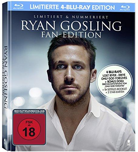RYAN GOSLING Fan-Edition (Mediabook mit 4 Blu-Rays, streng limitiert und nummeriert)
