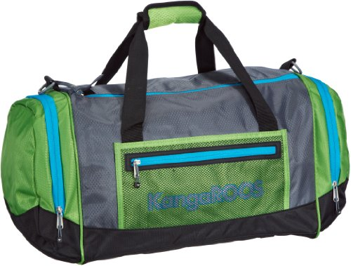 KangaROOS VISBY Men Sportsbag B4024 Damen Schultertaschen 45x28x28 cm (B x H x T), Mehrfarbig (charcoal 202)