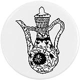 Azeeda 58mm 'Cafetière' bouton de badge (BB00007145)