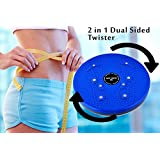 Virtual World Perfect 4 In 1 Magnetic Twister, Ab Tummy Trimmer, Accupressure Twister, Useful For Figure Toneup...