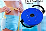 #8: Virtual World Perfect 4 in 1 magnetic twister, Ab tummy trimmer, Accupressure twister, Useful for figure toneup,weight reduction, pyramids and magnets Fast Calories Burn Weight Loss Kit for Men & Women