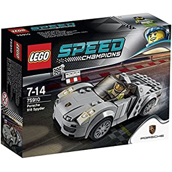 lego speed champions 75910 porsche 918 spyder toys games. Black Bedroom Furniture Sets. Home Design Ideas
