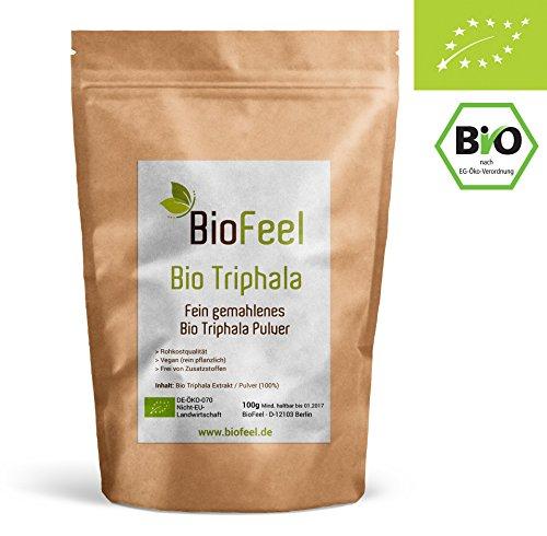 BioFeel - Bio Triphala Pulver - 100g