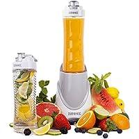 Duronic BL3 /W Blend & Go Blender / Mixeur à smoothie de 300W avec 2 Bouteilles de 600ml sans BPA