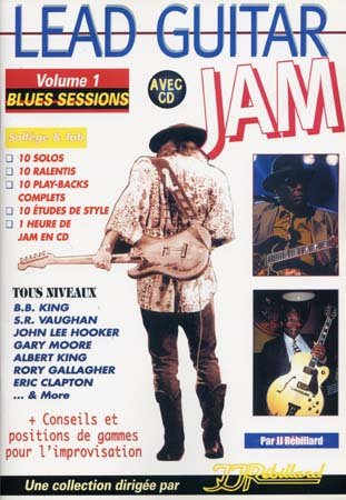 Lead Guitar Jam Vol.1 Blues Sessions CD Tab