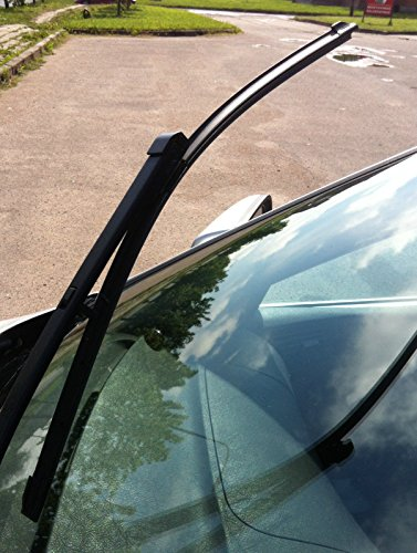 Set of Front Frameless Flat Aero Wiper Blades HQ Automotive ADA61-624 Twin Box