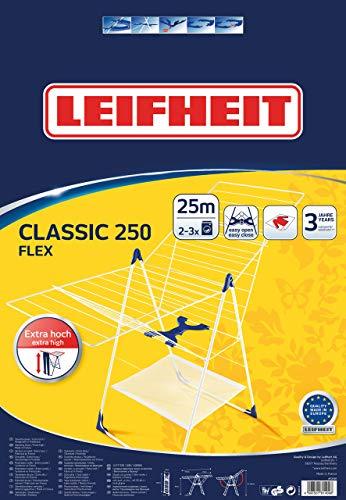 Leifheit 81409 6640-Tendedero Universal Roma 250, para Prendas pequeñas, 61x5x102 cm