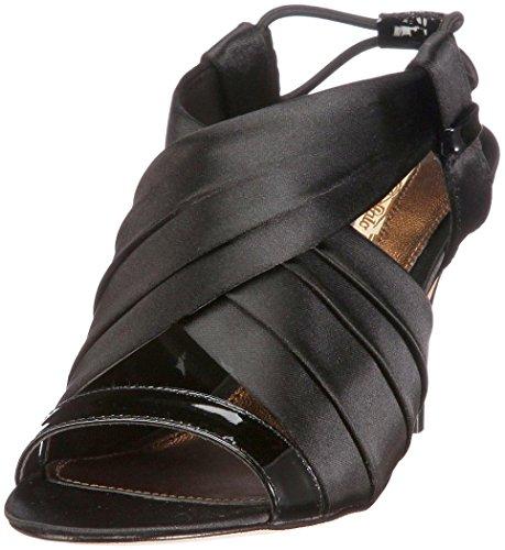 Buffalo Sandaletten 18664-766 schwarz Satin Black