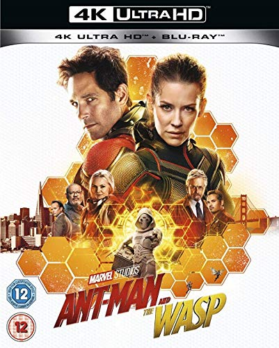 Ant-Man and the Wasp [4K + UHD] [2018] UK IMPORT INCLUDES ALL DUTIES AND TAXES