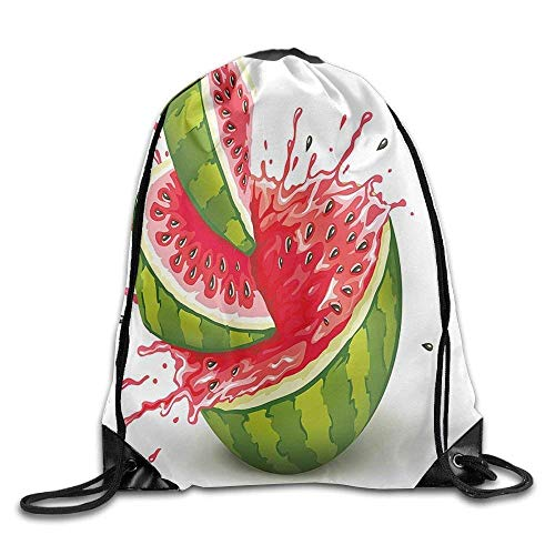 EELKKO Hello Forest Animals - Dark Tan_11972 3D Print Drawstring Backpack Rucksack Shoulder Bags Gym Bag for Adult 16.9