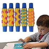 PIGLOO Foam Design Paint Roller for Kids...