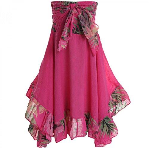 BEZLIT Mädchen Kinder Spitze Kleid Peticoat Fest Sommer-Kleid Kostüm 20424 Pink Größe 164