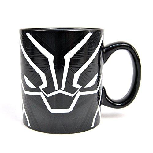 hange Mug Black Panther Half Moon Calici Tazze (Becher Maske)