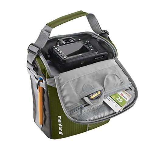 Mantona Elements Outdoor-zaino (con inserto rimovibile per fotocamera DSLR-fotocamera con pioggia per/scomparto per PC portatile/supporto cavalletto)