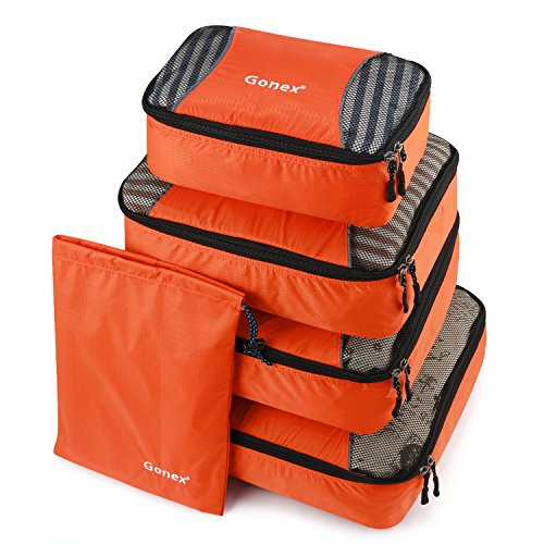 Gonex – 5 packs Packing Cubes Organizadores de...