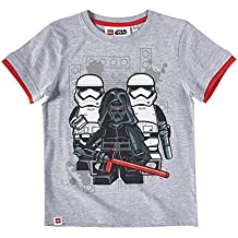 LEGO Star Wars Chicos Camiseta manga corta - Gris