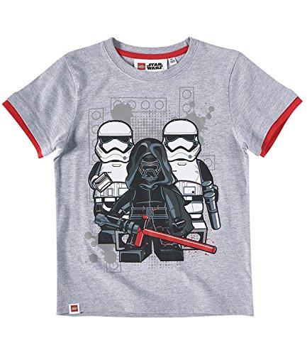 n T-Shirt - grau - 104 (Star Wars Kinder)