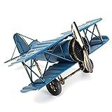 Grand 8,5 '' modèle d'avion avion rétro, jouet de l'avion d'ornement de décoration, décoration de bureau de bureau à la maison, ailes allemandes modèle-ww1 d'ailes rétro de la première guerre mondiale