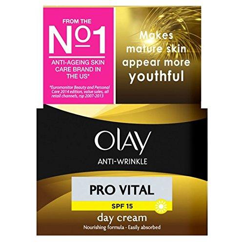 Olay anti-rides de la peau 50ml Pro Jour Hydratant Crème d'âge mûr Vital