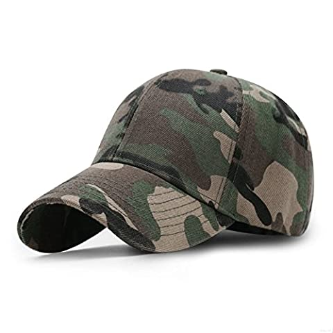 GADIEMENSS Sports Hat Breathable Outdoor Run Cap Camo Baseball caps Shadow Structured hats (Army