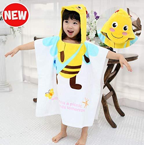 Wltelo da bagno un nuovo cartone animato yellow bee super fibra modella asciugamano.tutto il cotone è morbida e confortevole.